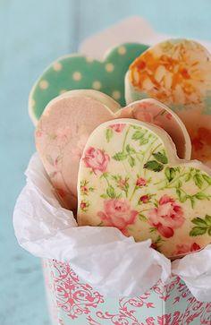 Postreadicción galletas decoradas, cupcakes y pops: Galletas decoradas con chocotransfer