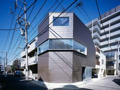 Cave House, Tokyo, Japan by Apollo Architects.