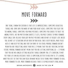 Our dainty move forward arrow necklace can be worn as a constant reminder move forward because there is so much beauty lying ahead. Past Quotes, Year Quotes, Quotes To Live By, Eat Pray Love Quotes, Positive Quotes, Motivational Quotes, Inspirational Quotes, Quotable Quotes, Positive Vibes