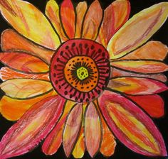 Van Gogh Sunflowers: 2nd Grade Integrates Language arts, art history, and art