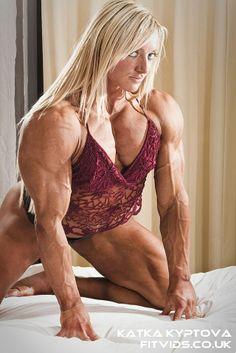 Katka Kyptova IFBB Pro and beautiful woman Strong Girls, Strong Women, Fit Women, Sexy Women, Dream Bodies, Hard Bodies, Muscular Women, Muscle Girls, Gym Girls