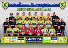 Rhein-Neckar Löwen - Das Team 2016/2017
