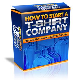 How to start a T Shirt company.  A guide to getting started in the world of fashion design