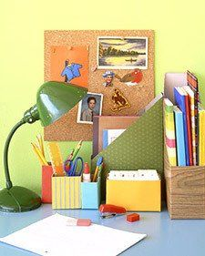 Make a Cereal Box Magazine Organizer.