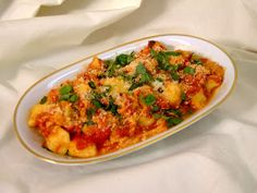 I love flavour, me!: Gnocchi with Traditional Italian Tomato Sauce