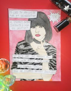My Arts, Fan Art, Etsy Shop, Comics, Artist, Painting, Instagram, Lana Del Rey, Bonjour