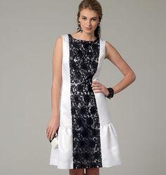 V9078, Misses' Dress similar to the Christopher Kane dress