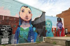 A closer look at the works of the Richmond Mural Project.