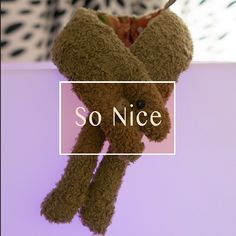 Fluffy Scarf for your love one. (Brown Sugar color) by SoNice on Etsy