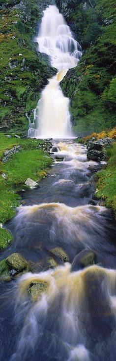 ✮ Ardara, County Donegal, Ireland Waterfall