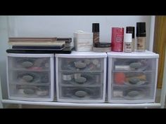 Makeup Storage and Organization | laceylike  #makeup #storage #organization #cleaning #beauty www.youtube.com/laceylike