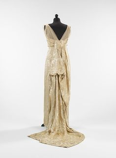 Evening dress Callot Soeurs (French, active 1895–1937) Designer: Madame Marie Gerber (French) Date: 1914