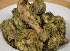 Green Sukka Chicken