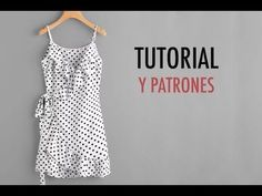 Aprender a coser: vestido cruzado mujer (patrones gratis) (Oh, Mother Mine DIY!) - Walls Tutorial and Ideas Dress Sewing Patterns, Sewing Patterns Free, Clothing Patterns, Free Pattern, Skirt Patterns, Coat Patterns, Blouse Patterns, Skirt Sewing, Sewing Clothes Women