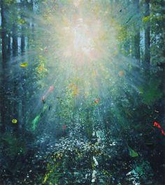 ELEMENTAL III 18x16 oil on canvas 2014