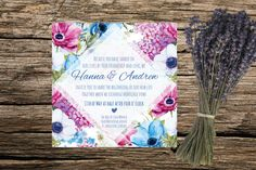 Bohemian Vintage Style Floral Wedding by ASplashOfHearts on Etsy