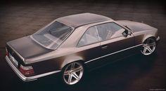 Mercedes-Benz W124 Coupe by sergoc58 on DeviantArt