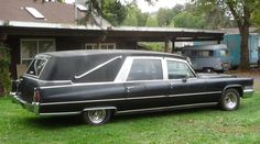 Cadillac Hearse.   I want one.