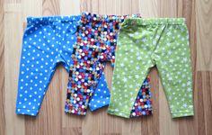 actitud y alegría ♥: DIY: Cómo hacer leggings para bebés