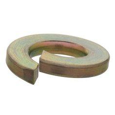 "1100 Yellow Zinc Plated 3//8/"" Split Lock Washers"