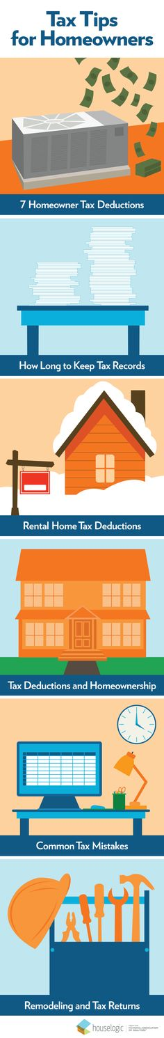 Did you become a first-time homeowner, buy a rental home, or sell your home after completing a remodeling project in 2015? Know every deduction you're entitled to and how to avoid common mistakes with these helpful homeownership tax tips.