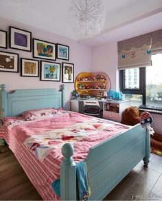 Effect picture of American minimalist house children's room design and decoration 2016