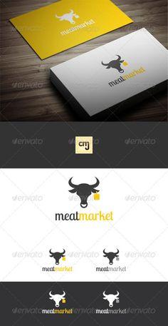 Meat Market Logo Template