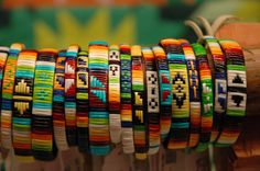 Michael Red Cloud quill bracelets, Heritage Center at Red Cloud Indian School