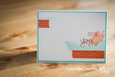 Love2BeCreative.de Work of Art, Stampin Up!
