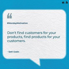 This quote reminds us that brands need to build products that deliver value to your customers. And to do that, you need to get to know them first. Developing products that actually have value requires an insight-driven process. That's a much more successful approach than building a product in isolation and trying to market it later on.  #Amh #Amhwebstudio #Monday #Mondaymotivation #Productdesign #Quotes #Quoteoftheday #Products #Mondayquotes #Mondaythoughts #Businessquotes #Amhthewebstudio