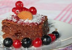 Kakaovo-cuketový VEGAN koláč