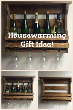 A personal favorite from my Etsy shop https://www.etsy.com/listing/266322039/wooden-wine-rack-wall-mounted-wine-rack