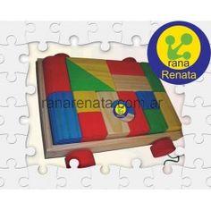 Carro con Bloques - Madera ranarenata.com.ar