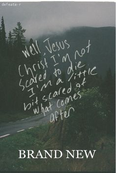 """""""Do I get the gold chariot? Do I float through the ceiling?"""" Jesus Christ - Brand New"""