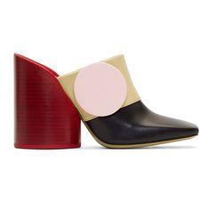 Jacquemus - Multicolor 'Les Mules Boutons' Heels