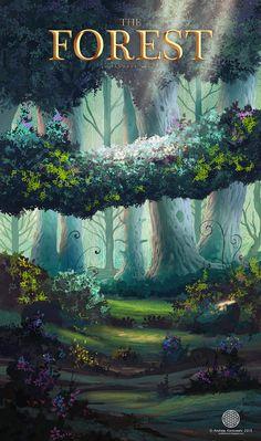 ArtStation - The Forest, Andi Koroveshi