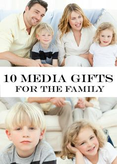 Movie night will be much more entertaining when you surprise your family with these 10 media gifts! They're fun and the whole family can enjoy them!
