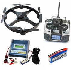 $3,500 Ready to Fly : Go-Four Quadrocopter Includes Radio, GoFour RTF, Battery and Charger. All you need to get started in one neat little package.