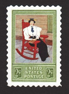 This 1912 issue honored those who read on the porch.