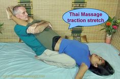 This awesome Thai Massage position is one of many beneficial poses you will learn in the Complete Thai Massage course! Click to get your training now!