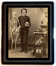 Edgar Allan Poe, (1809-1849) ~ Ohhh! Now That. Is. Cool!