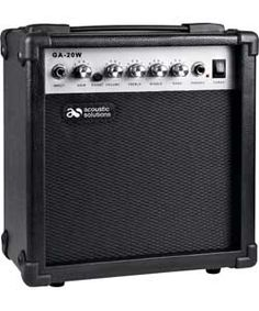 Buy Acoustic Solutions 20 Watt Amp at Argos.co.uk, visit Argos.co.uk to shop online for Guitar accessories