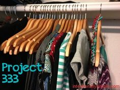 Project 333- 33 wardrobe items (including accessories, outwear, and shoes) to be worn for 3 months. How to create a simple, well-curated wardrobe.