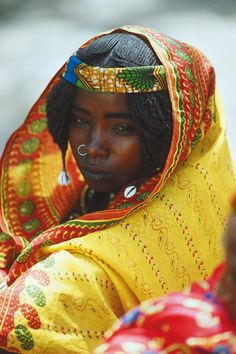 Beautiful Young Woman in Cameroon