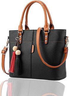 b7e5c05be3d09 Fargo Flames PU Leather Women's Satchel Handbag Made Of PU. Color-Black  Type- Shoulder Handbag Inner Material- Polyester Lining Fabric Country Of  Origin- ...