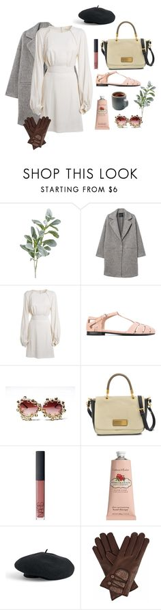 """""""Morgan"""" by unconcerned-hobbit ❤ liked on Polyvore featuring Pier 1 Imports, MANGO, Chloé, Church's, A-Morir by Kerin Rose, Marc by Marc Jacobs, NARS Cosmetics, Crabtree & Evelyn, Venus and Gizelle Renee"""