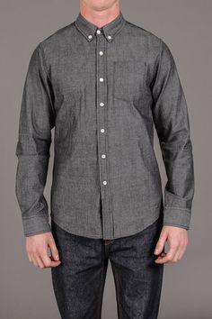 Bridge & Burn Truman Oxford Button Up Shirt