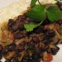 Meatless Main Dishes: Robin's Sweet and Spicy Black Beans