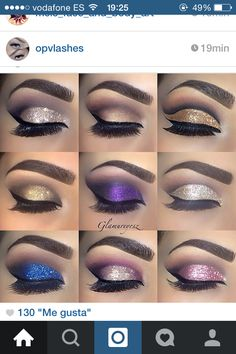 Eye make up Cute Makeup, Gorgeous Makeup, Pretty Makeup, Makeup Goals, Makeup Inspo, Makeup Inspiration, Makeup Ideas, Beauty Make-up, Beauty Hacks