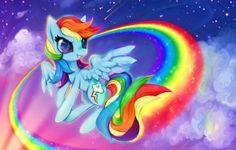Rainbow Dash #Hasbro #MLP #FiM My little pony friendship is magic